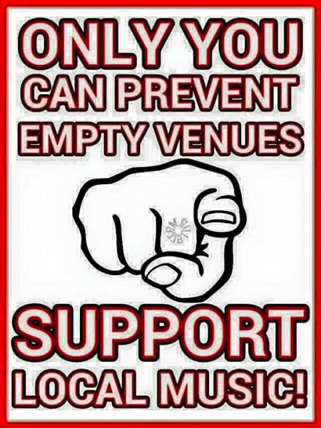 Support Local Music Venues