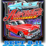 2016 Lake George Car Show Poster